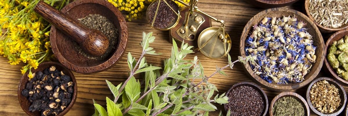 Výber bylinných a rastlinných príchutí