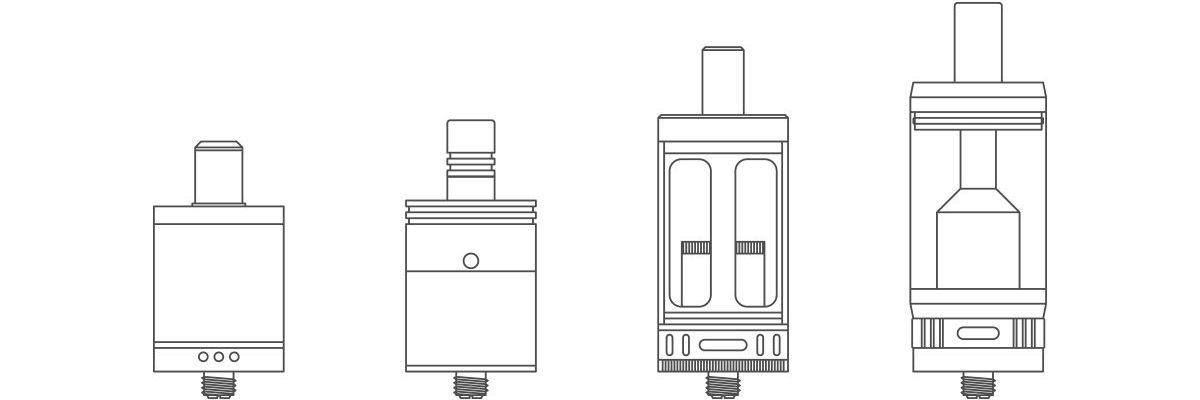 DIY atomizéry – RDA, RTA, RDTA