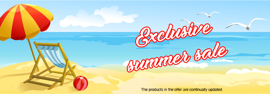 Exclusive summer sale
