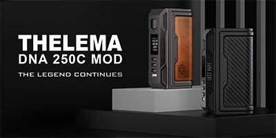 Novinka: Luxusní DNA250C Módy Lost Vape Thelema
