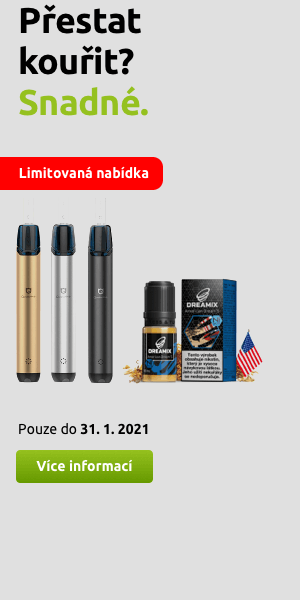 Akční nabídka - přestaňte kouřit cigarety