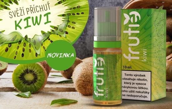 Sladká chuť vyzrálého Kiwi v nové příchuti náplní Frutie