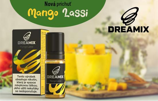 Unikátna mangová príchuť hotových náplní Dreamix