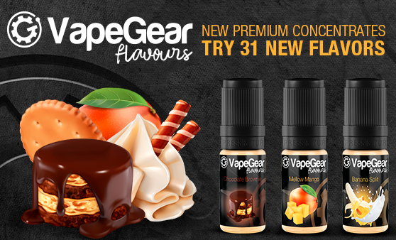 New premium concentrates VapeGear