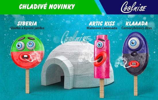 Chladivé novinky Shake&Vape CoolniSE