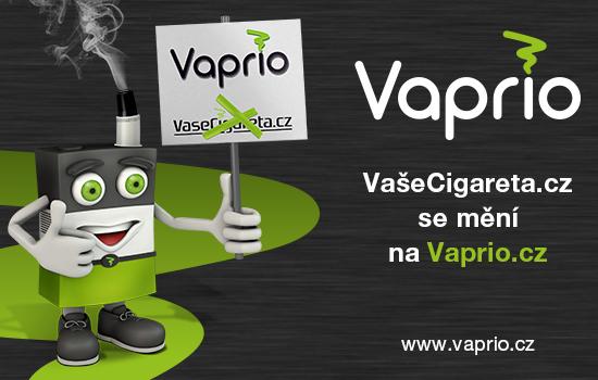 VašeCigareta.cz se mění na Vaprio