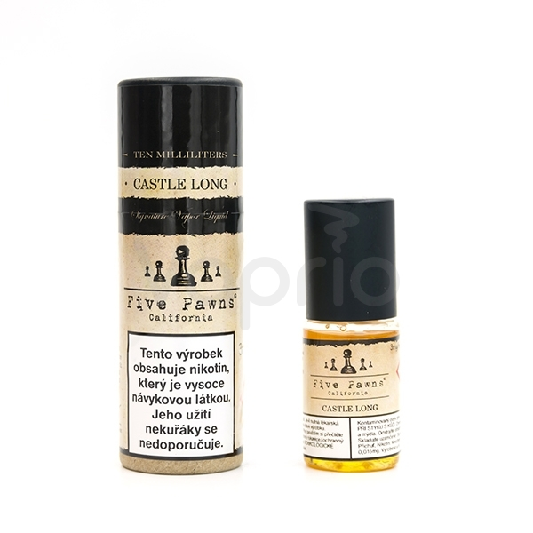 Castle Long - prémiový liquid Five Pawns