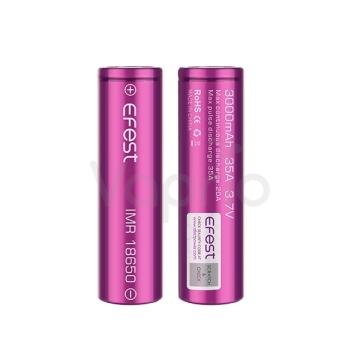Baterie Efest IMR 18650 - 3000mAh, 35A - 2ks
