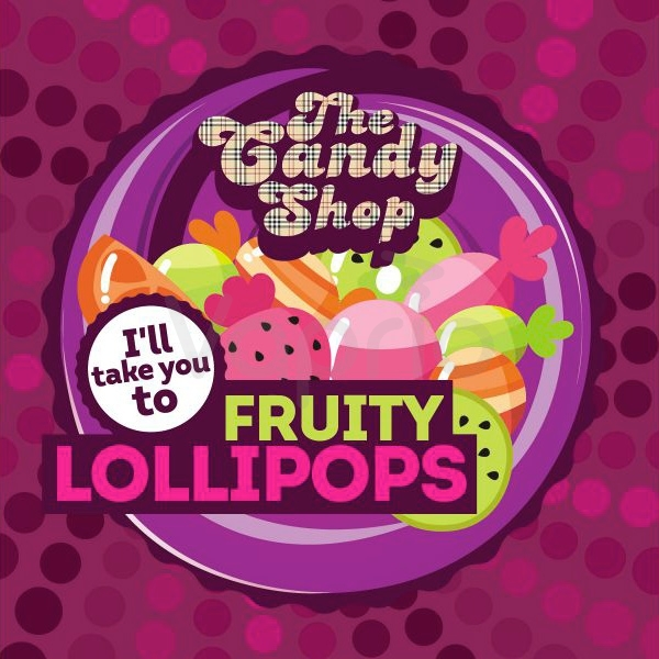BIG MOUTH - Aroma Fruity Lollipops
