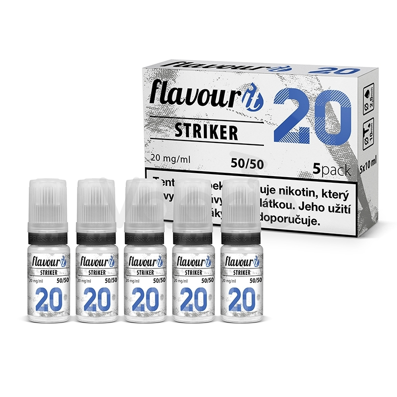 Flavourit STRIKER - 50/50 20mg, 5x10ml