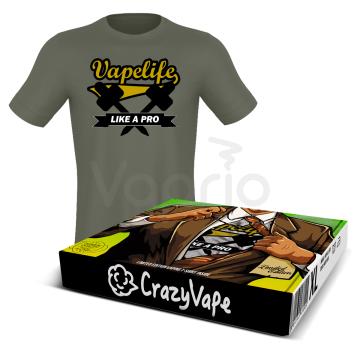 Tričko CrazyVape - Vape Life