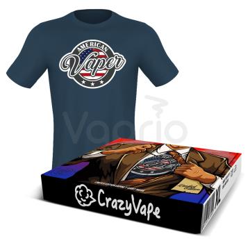 Tričko CrazyVape - American Vaper