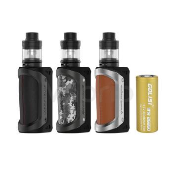 GeekVape Aegis 100W 26650 TC sada s Shield Clearomizérem vč. baterie
