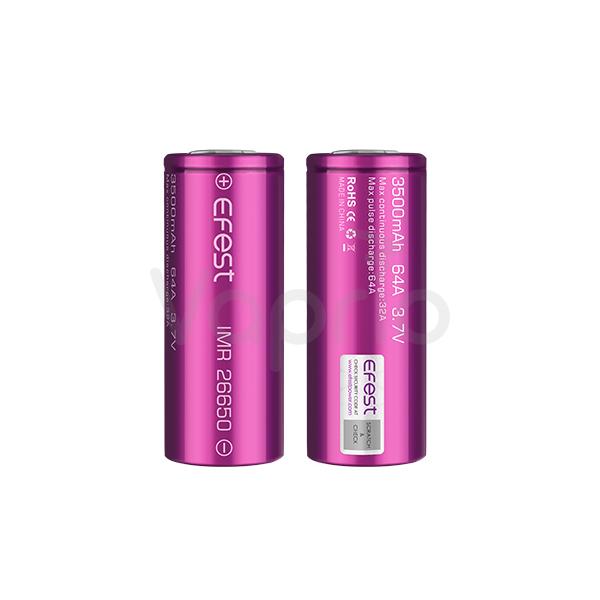 Baterie Efest IMR 26650 - 3500mAh, 64A