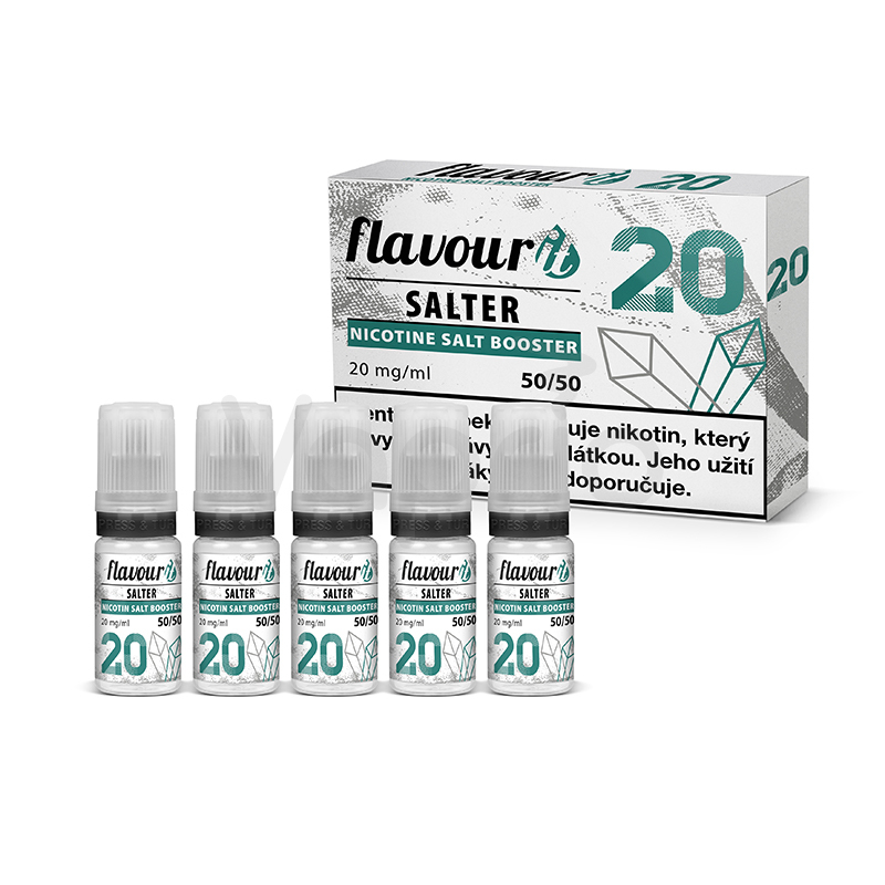 Flavourit Salter - 50/50 20mg, 5x10ml