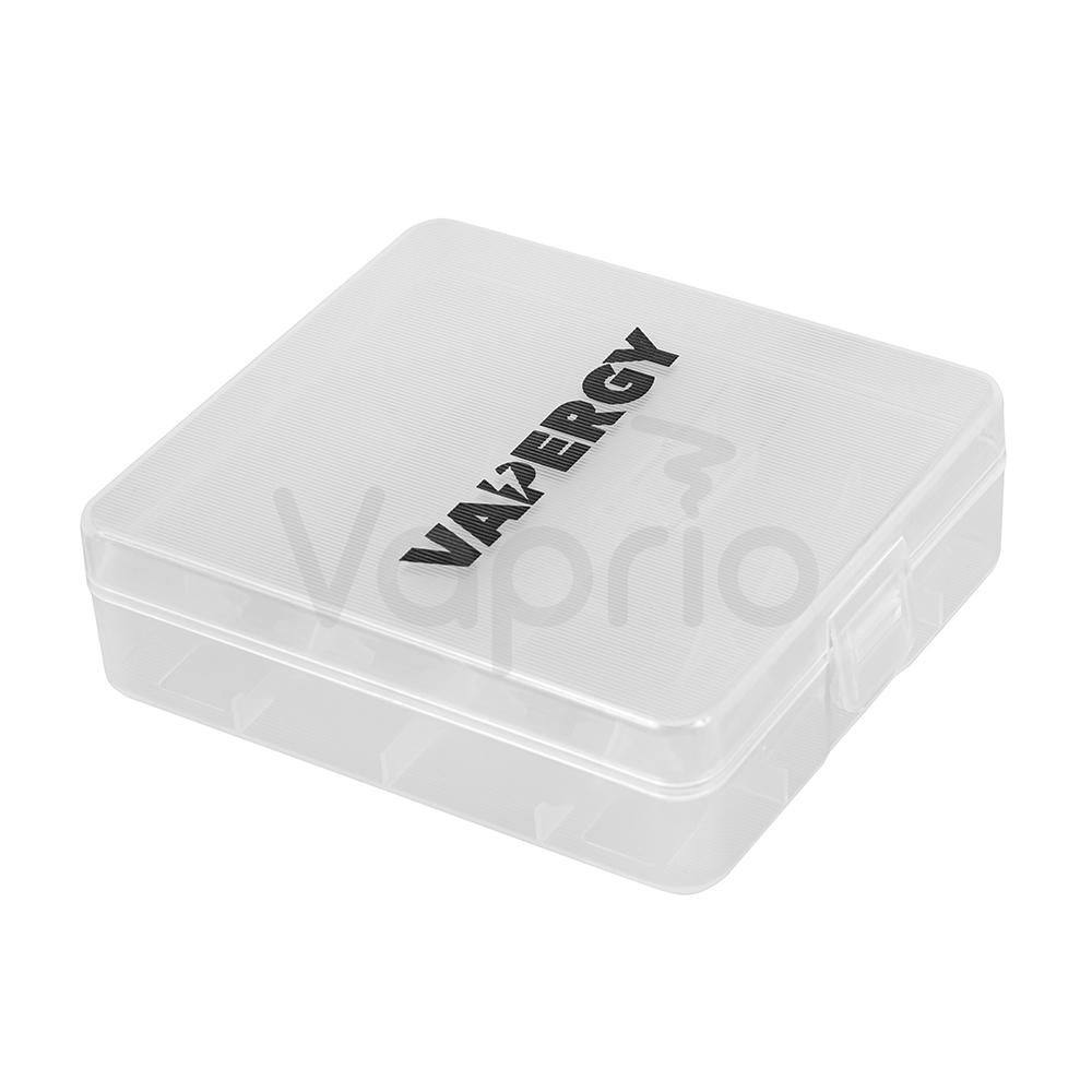VAPERGY - Plastikbox für 4 x 18650 Akkus
