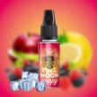 Full Moon - Happy (Jablko, červené ovocie a citrón) - príchuť