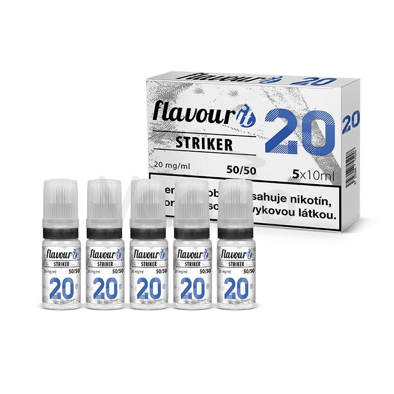 Flavourit 50/50 - STRIKER 20mg, 5x10ml