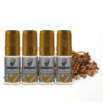 Dreamix - Klasický tabák (Classic Tobacco) 4x10ml