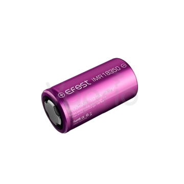 Baterie Efest IMR 18350 - 700mAh - fialová