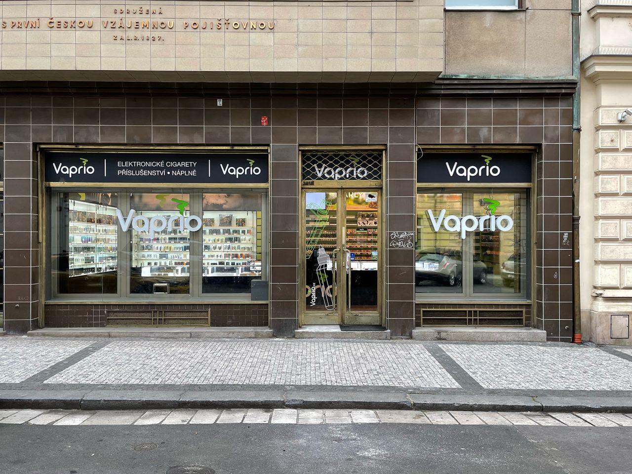 Praha 1 - specializovaná prodejna Vaprio