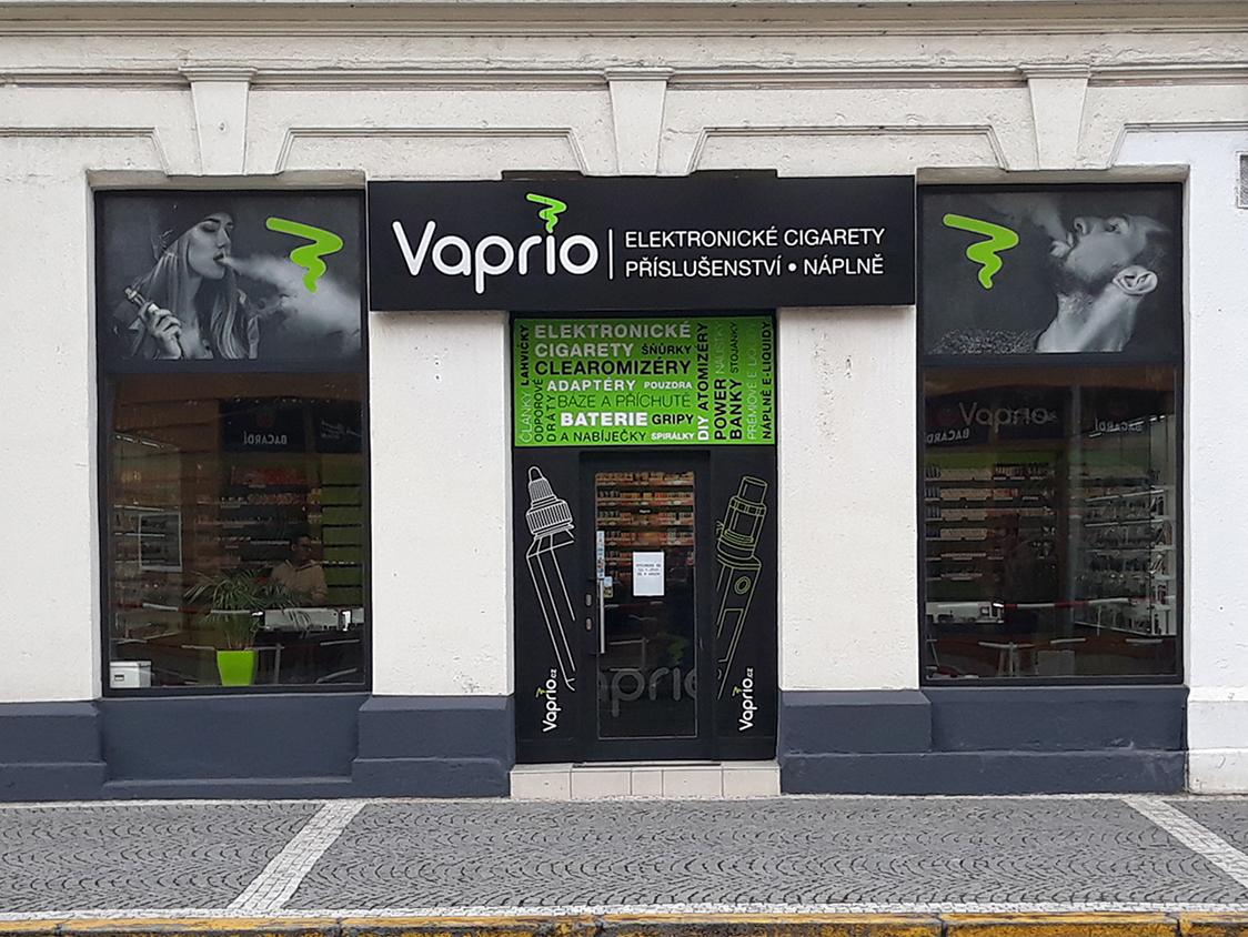 Hradec Králové - specializovaná prodejna Vaprio