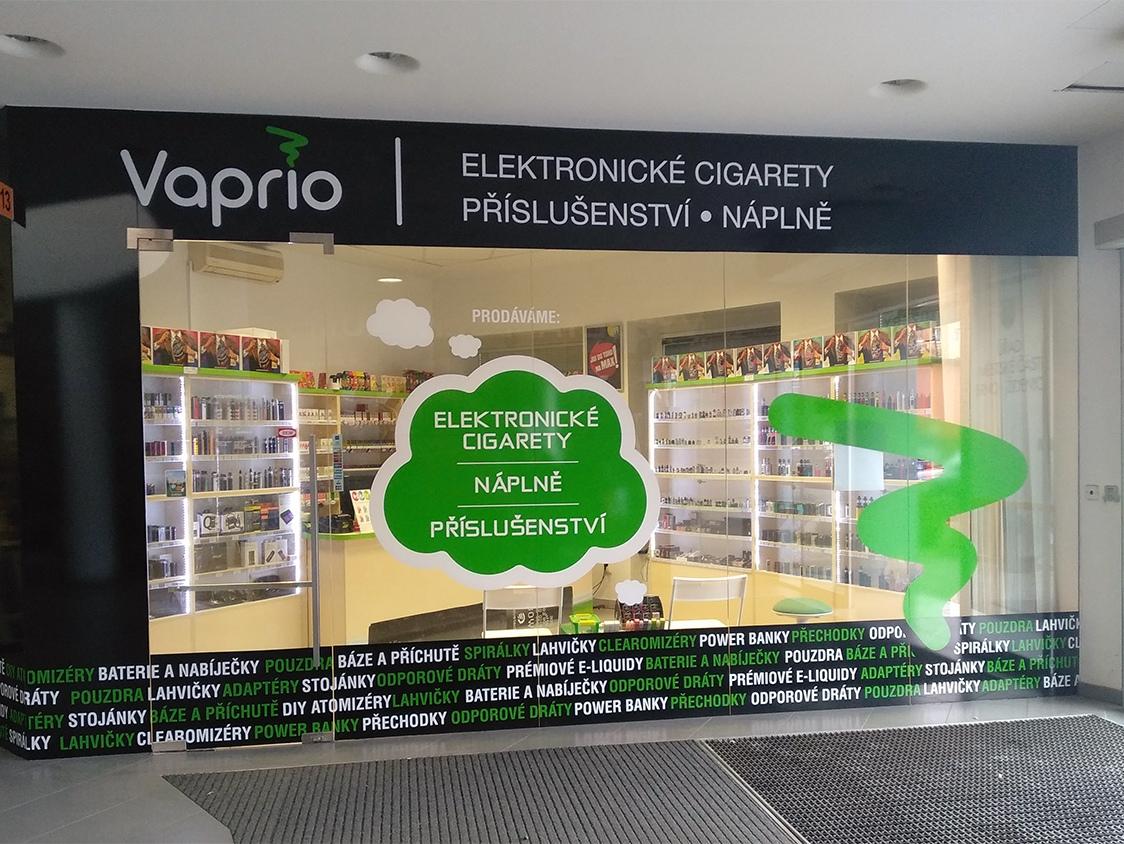 Brno - Židenice - specializovaná prodejna Vaprio