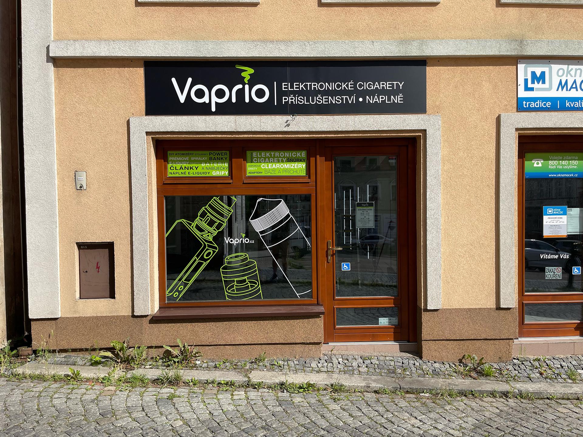 Příbram - specializovaná prodejna Vaprio