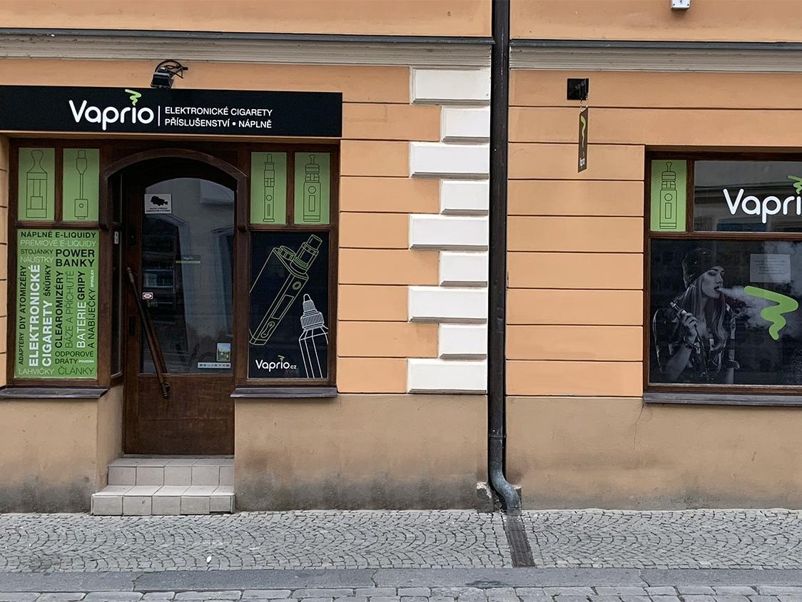 Pardubice - specializovaná prodejna Vaprio