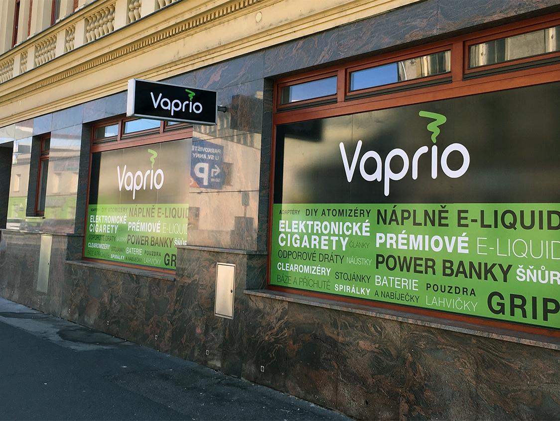 Brno - střed - specializovaná prodejna Vaprio