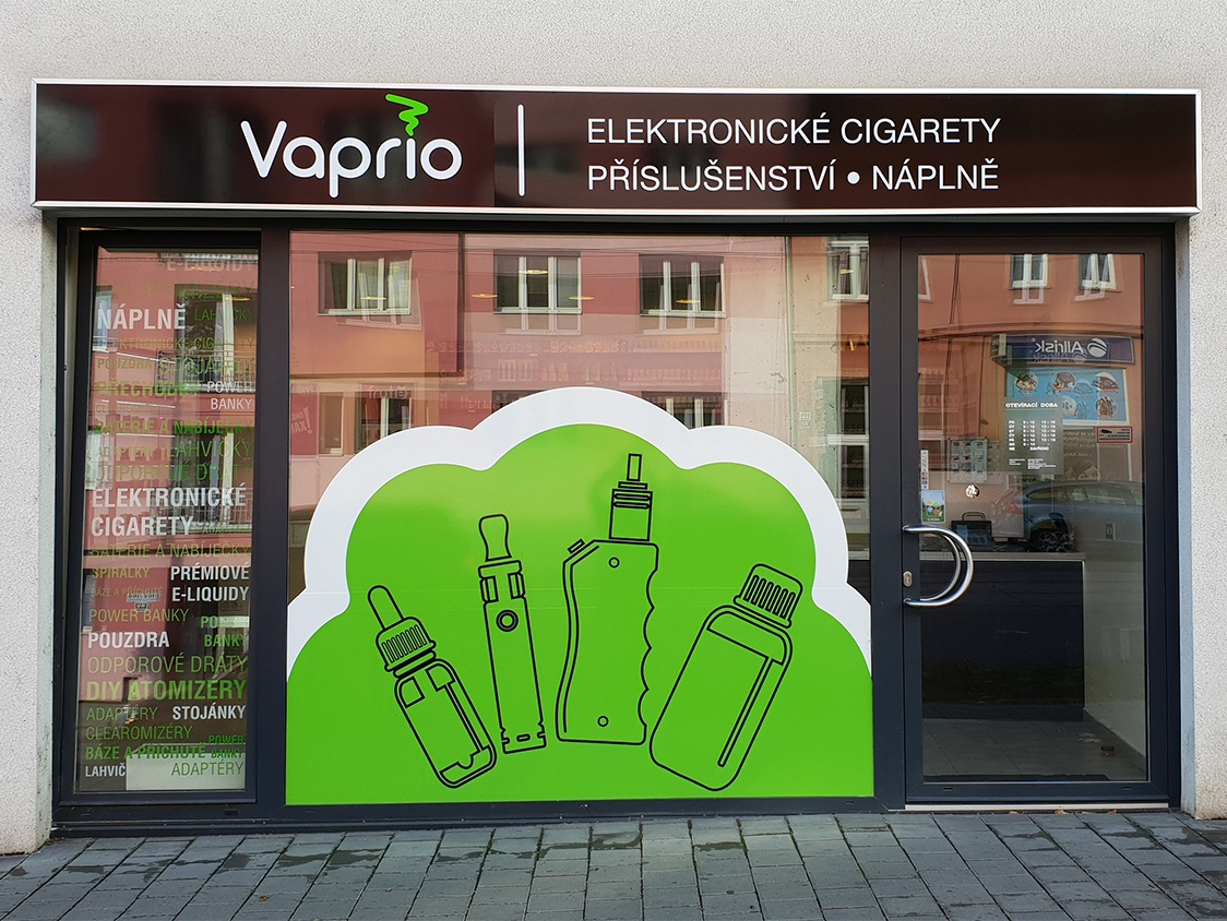 Brno - Královo Pole - specializovaná prodejna Vaprio