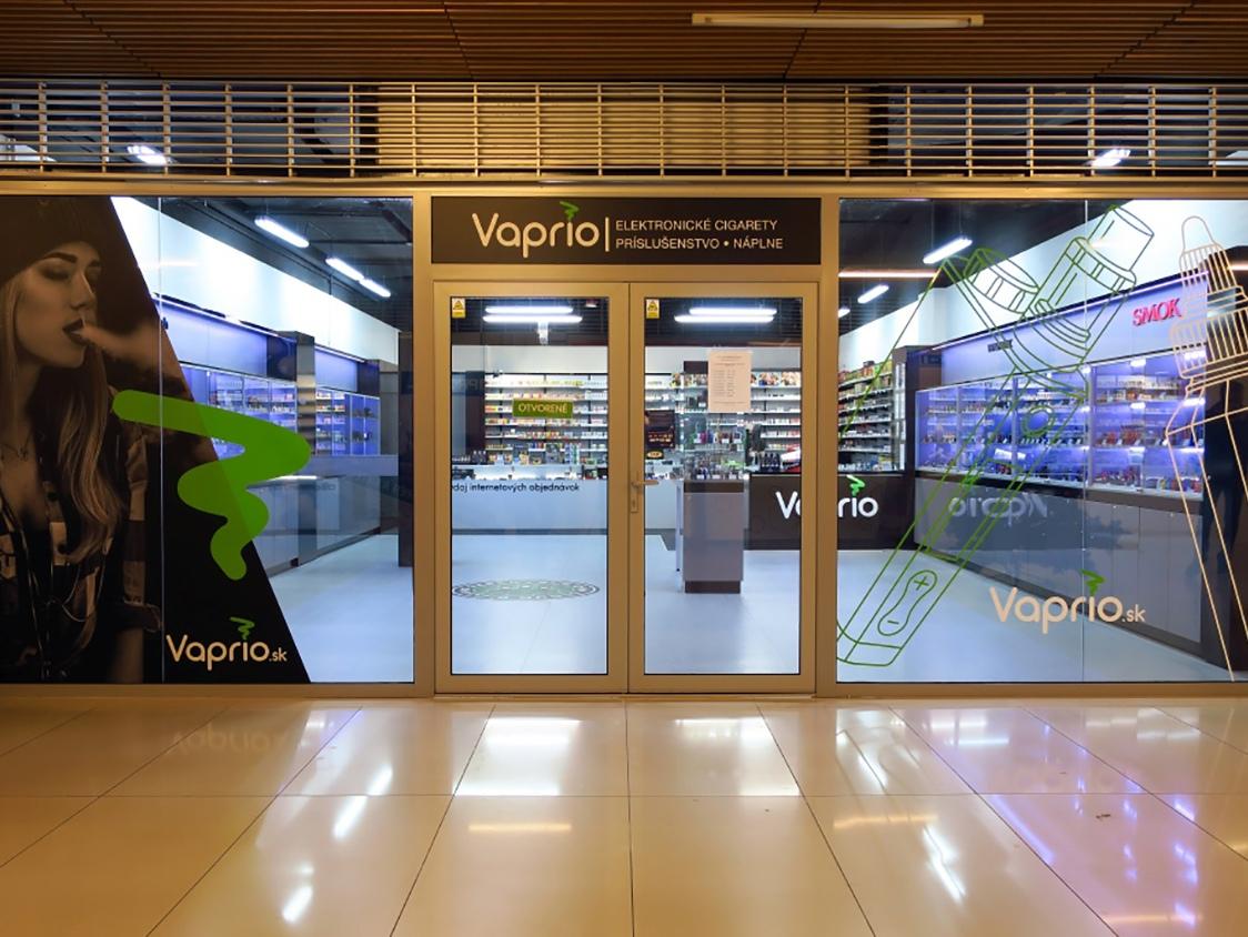 Košice - špecializovaná predajňa Vaprio