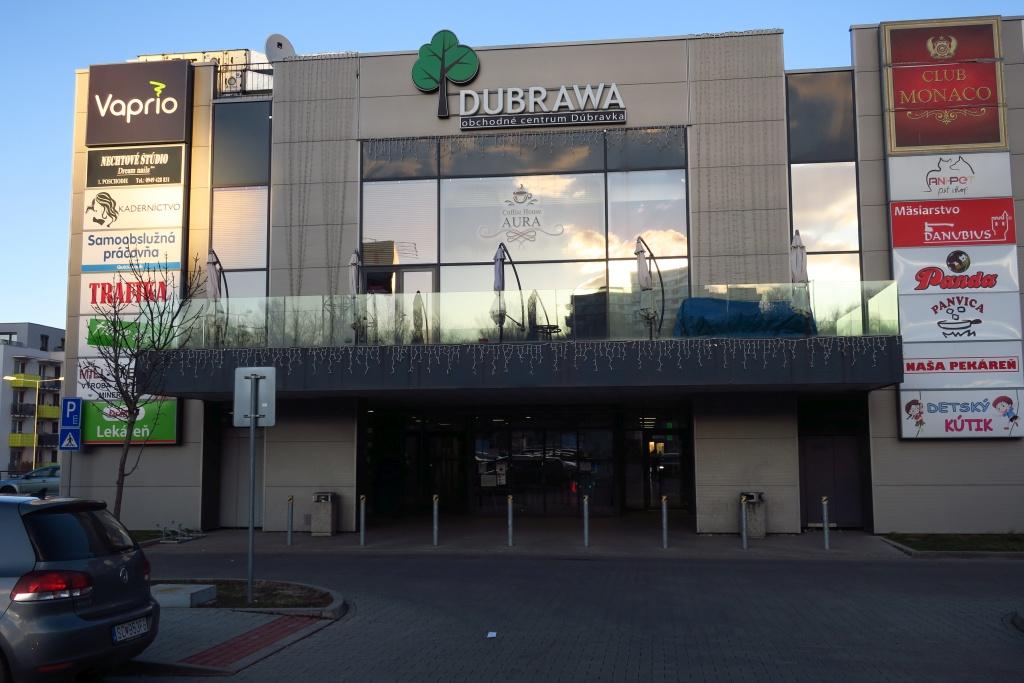 Bratislava - Dúbravka - špecializovaná predajňa Vaprio